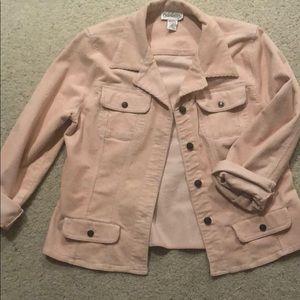 Millennial Pink Corduroy Jacket
